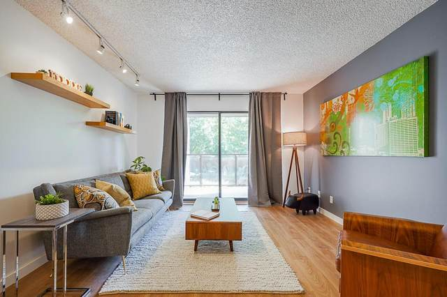 315 Tenth Street #206, New Westminster, BC V3M 3Y2 (#R2603992) :: Ben D'Ovidio Personal Real Estate Corporation | Sutton Centre Realty