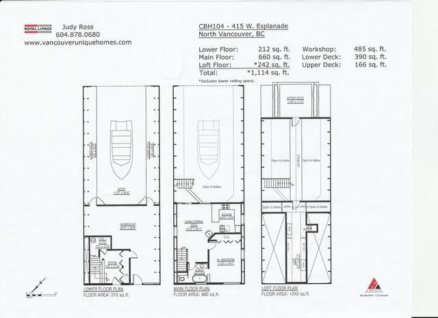 415 W Esplanade Cbh104, North Vancouver, BC V7W 1A6 (#R2604284) :: Premiere Property Marketing Team
