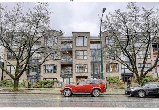 2130 W 12TH Avenue #203, Vancouver, BC V6K 2N2 (#R2604399) :: Initia Real Estate