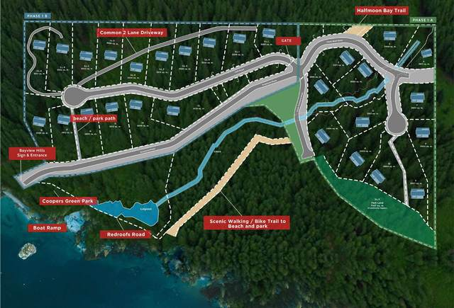 Lot 1 Priestland Road, Halfmoon Bay, BC V7Z 1B2 (#R2604434) :: Initia Real Estate