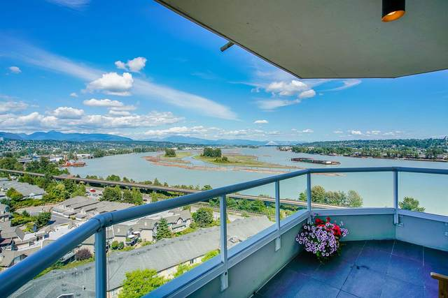71 Jamieson Court #1402, New Westminster, BC V3L 5R4 (#R2604897) :: 604 Realty Group