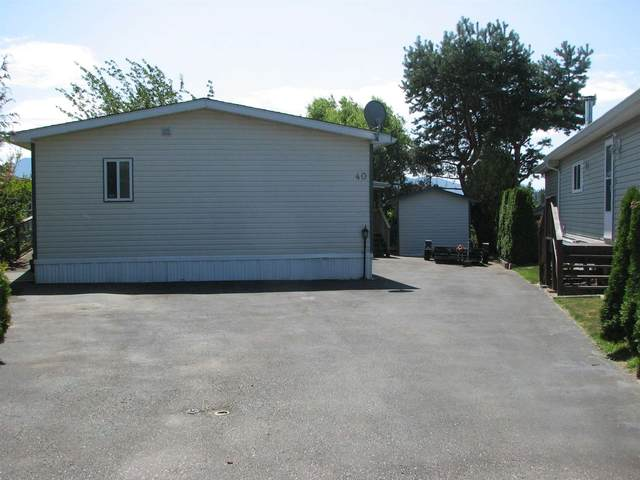 41168 Lougheed Highway #40, Mission, BC V0M 1G0 (#R2604982) :: Premiere Property Marketing Team