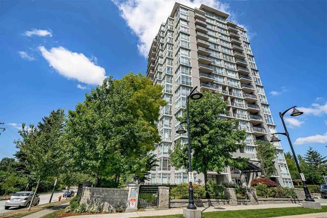 555 Delestre Avenue #806, Coquitlam, BC V3K 0A9 (#R2605954) :: 604 Realty Group