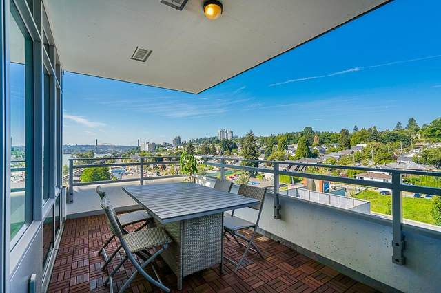 200 Nelson's Crescent #801, New Westminster, BC V3L 0H4 (#R2606193) :: Ben D'Ovidio Personal Real Estate Corporation   Sutton Centre Realty