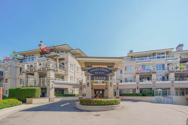 20448 Park Avenue #215, Langley, BC V3A 4N3 (#R2606212) :: Ben D'Ovidio Personal Real Estate Corporation   Sutton Centre Realty