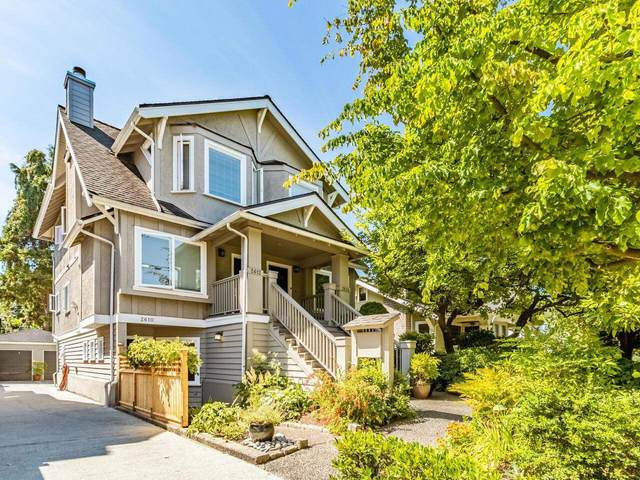 2610 W 1ST Avenue, Vancouver, BC V6K 1G9 (#R2607517) :: Ben D'Ovidio Personal Real Estate Corporation | Sutton Centre Realty
