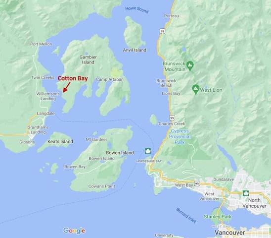 DL 477 Gambier Island, Gambier Island, BC V0V 0V0 (#R2616772) :: 604 Home Group