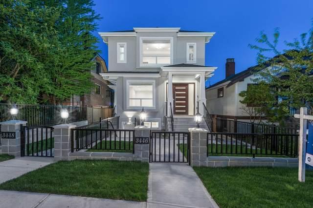 3448 Pandora Street, Vancouver, BC V5K 1W8 (#R2618949) :: 604 Home Group