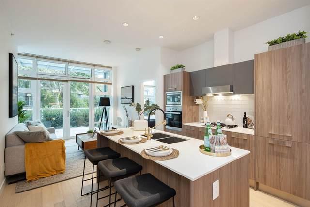 2221 E 30TH Avenue #107, Vancouver, BC V5N 0G6 (#R2624299) :: 604 Home Group