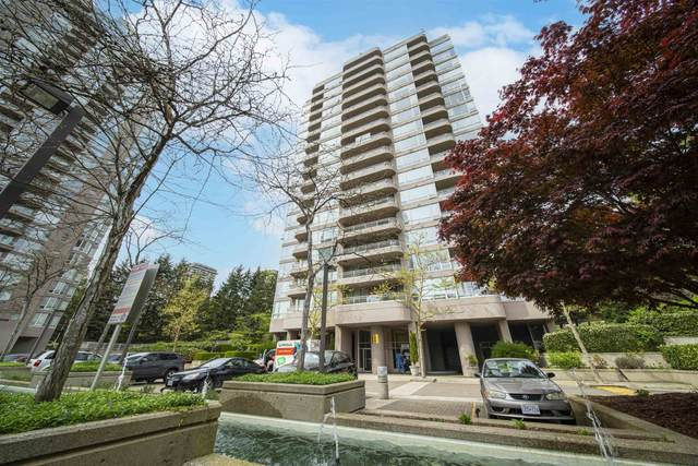 9633 Manchester Drive #1208, Burnaby, BC V3N 4Y9 (#R2625500) :: 604 Home Group