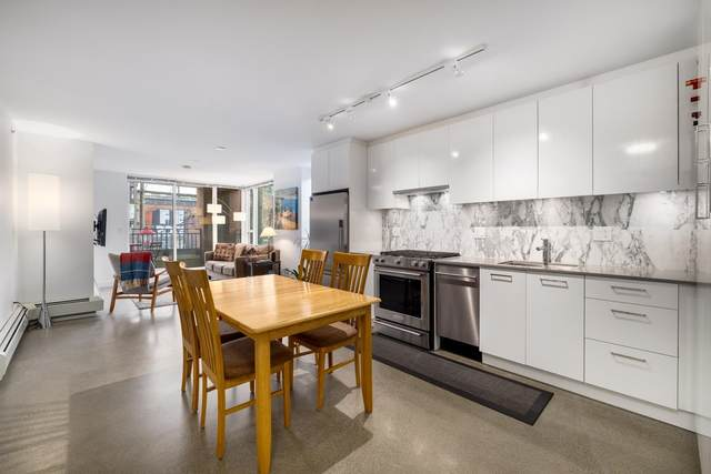 231 E Pender Street #207, Vancouver, BC V6A 0G3 (#R2625636) :: 604 Home Group