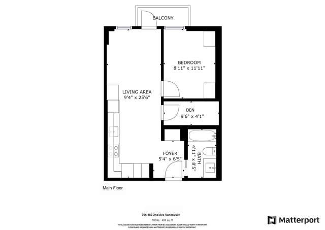 180 E 2ND Avenue #706, Vancouver, BC V5X 0G7 (#R2625978) :: Ben D'Ovidio Personal Real Estate Corporation | Sutton Centre Realty