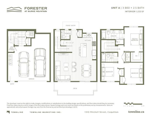 1310 Mitchell Street #156, Coquitlam, BC V3B 2W7 (#R2626076) :: 604 Home Group