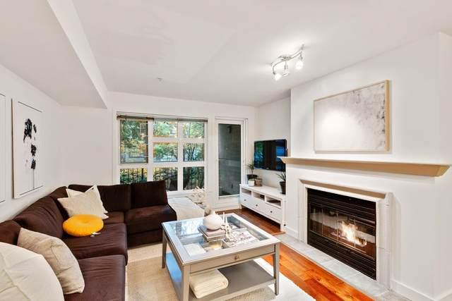 2161 W 12TH Avenue #208, Vancouver, BC V6K 4S7 (#R2626608) :: Initia Real Estate