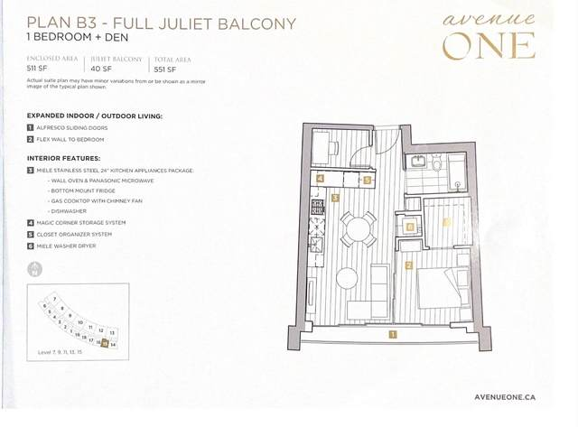 1768 Cook Street #1315, Vancouver, BC V5Y 0N3 (#R2627593) :: Initia Real Estate
