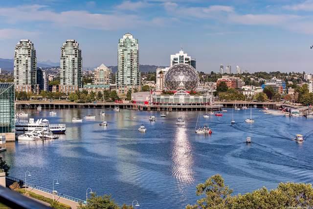 980 Cooperage Way #1101, Vancouver, BC V6B 0C3 (#R2627936) :: Initia Real Estate