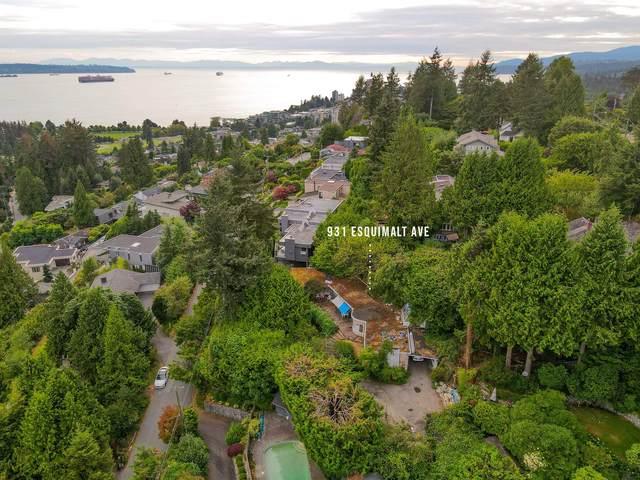 931 Esquimalt Avenue, West Vancouver, BC V7T 1J9 (#R2628534) :: 604 Home Group