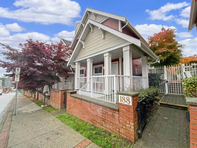 188 Sixth Street #16, New Westminster, BC V3L 2Z9 (#R2628613) :: 604 Home Group