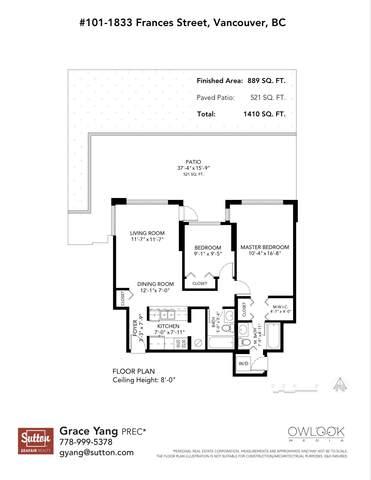1833 Frances Street #101, Vancouver, BC V5L 1Z8 (#R2628675) :: 604 Home Group