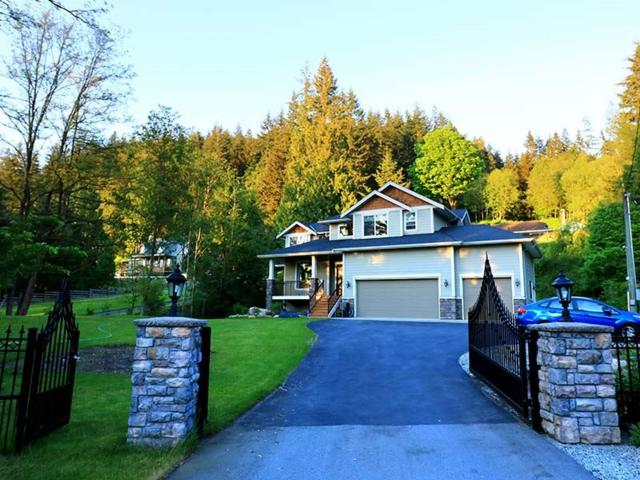 1680 East Road, Anmore, BC V3H 5E9 (#R2180736) :: Vallee Real Estate Group