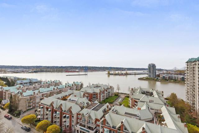1245 Quayside Drive #1706, New Westminster, BC V3M 6J6 (#R2257367) :: West One Real Estate Team