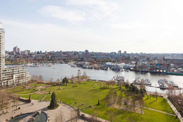 583 Beach Crescent #1705, Vancouver, BC V6Z 3E6 (#R2258716) :: West One Real Estate Team