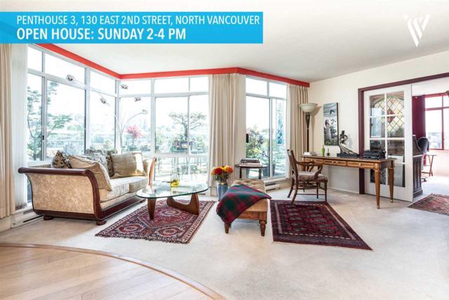 130 E 2ND Street Ph3, North Vancouver, BC V7L 1C3 (#R2282339) :: TeamW Realty
