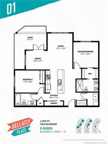 4215 Gellatly Place #1109, No City Value, BC V4T 2K3 (#R2288307) :: West One Real Estate Team