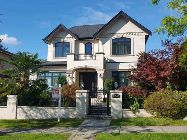 2245 W 21ST Avenue, Vancouver, BC V6L 1J4 (#R2305394) :: West One Real Estate Team