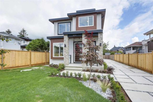 809 Twenty First Street, New Westminster, BC V3M 4Y1 (#R2305998) :: Vancouver Real Estate