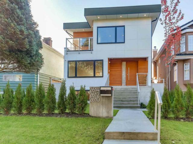 2614 E 18TH Avenue, Vancouver, BC V5M 2P7 (#R2310983) :: TeamW Realty