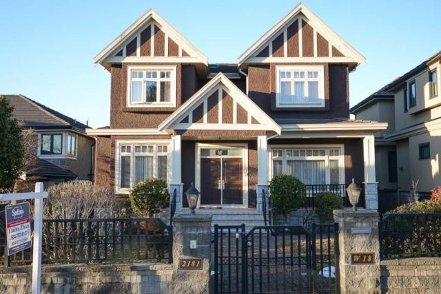 2181 W 18TH Avenue, Vancouver, BC V6L 1A3 (#R2345339) :: TeamW Realty