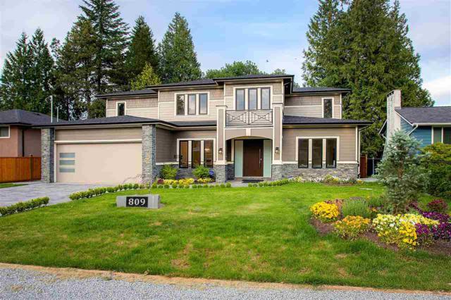 809 Crestwood Drive, Coquitlam, BC V3J 5S4 (#R2376330) :: Royal LePage West Real Estate Services
