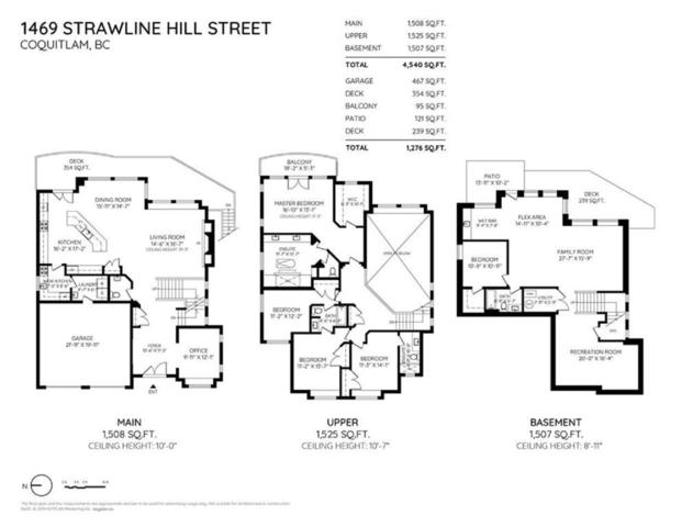 1469 Strawline Hill Street, Coquitlam, BC V3E 0L7 (#R2380933) :: Royal LePage West Real Estate Services