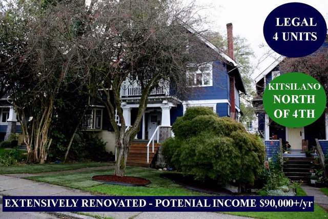 3624 W 3RD Avenue, Vancouver, BC V6R 1L9 (#R2413649) :: Macdonald Realty