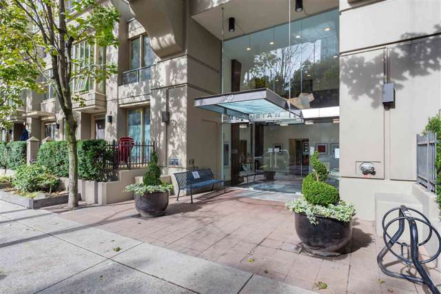 969 Richards Street #807, Vancouver, BC V6B 1A8 (#R2423738) :: Six Zero Four Real Estate Group