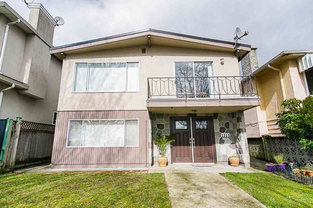 1215 E 62ND Avenue, Vancouver, BC V5X 2H2 (#R2429507) :: RE/MAX City Realty