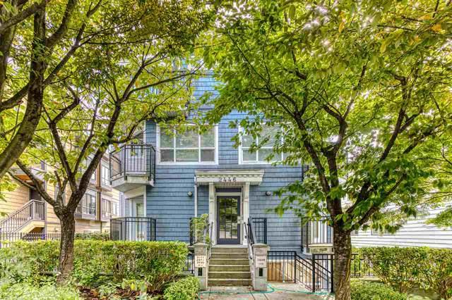 2446 W 4TH Avenue #4, Vancouver, BC V6K 1P3 (#R2500213) :: Initia Real Estate
