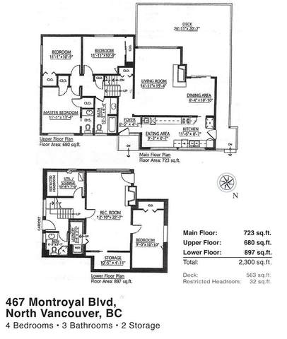 467 Montroyal Boulevard, North Vancouver, BC V7N 3E2 (#R2503430) :: Initia Real Estate