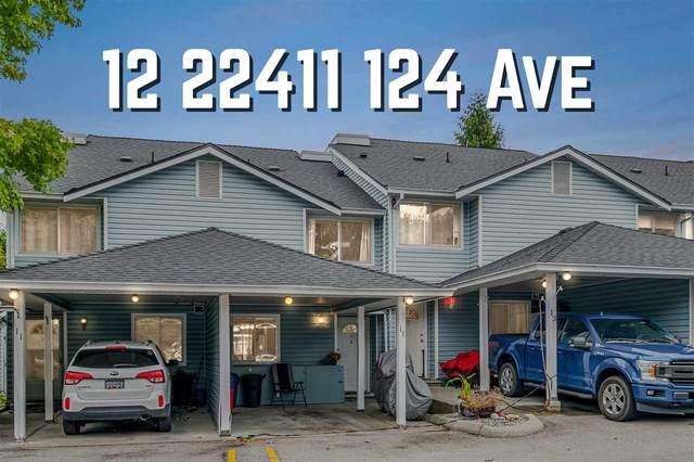 22411 124 Avenue #12, Maple Ridge, BC V2X 0H3 (#R2512469) :: Initia Real Estate