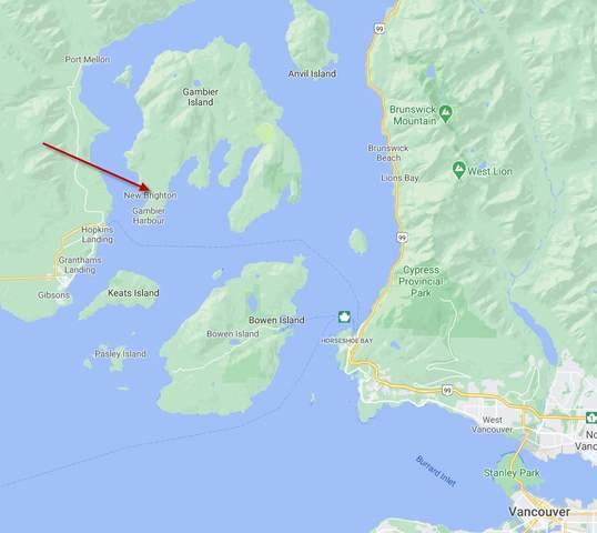 Lot B Andy's Bay Road, Gambier Island, BC V0N 1V0 (#R2530996) :: 604 Home Group