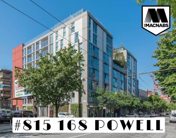 168 Powell Street #815, Vancouver, BC V6A 0B2 (#R2599942) :: Initia Real Estate