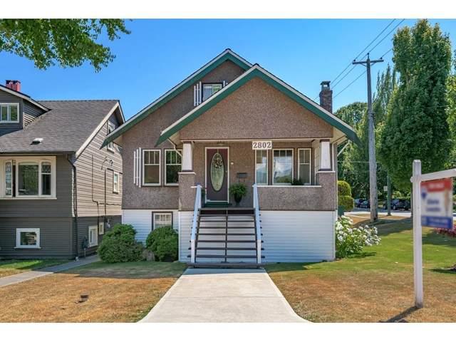 2802 Mcgill Street, Vancouver, BC V5K 1H6 (#R2602409) :: Premiere Property Marketing Team