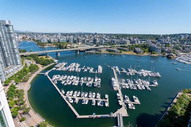 1199 Marinaside Crescent #3301, Vancouver, BC V6Z 2Y2 (#R2604205) :: Initia Real Estate