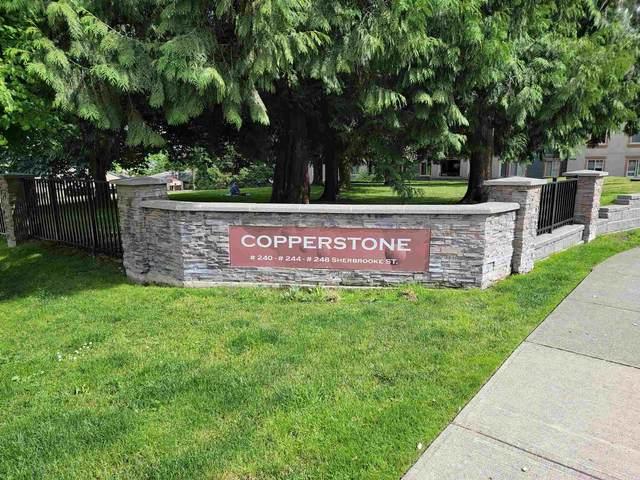 248 Sherbrooke Street #1405, New Westminster, BC V3L 0A2 (#R2604382) :: Premiere Property Marketing Team