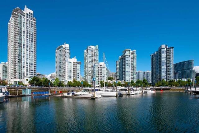 193 Aquarius Mews #2005, Vancouver, BC V6Z 2Z2 (#R2604474) :: Initia Real Estate