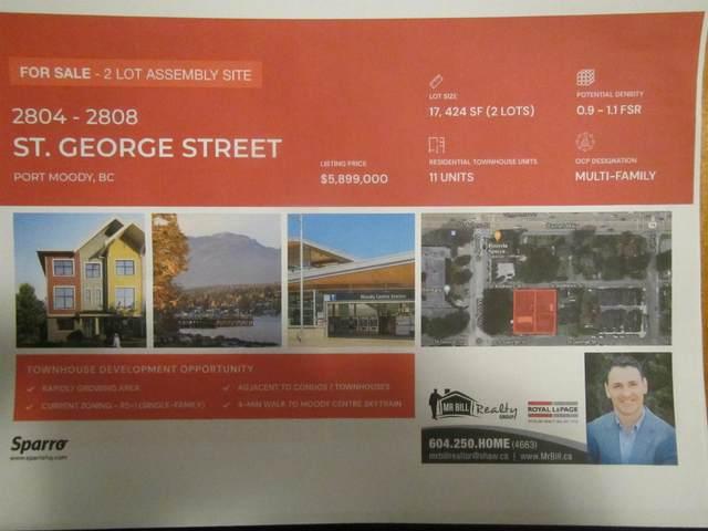 2808 St George Street, Port Moody, BC V3H 2H3 (#R2626805) :: 604 Home Group