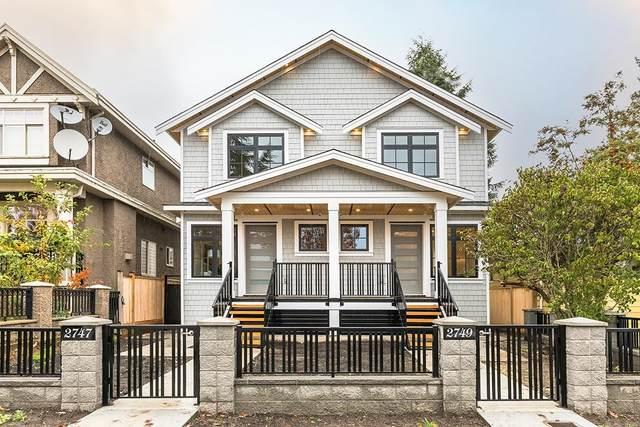 2749 E 54TH Avenue, Vancouver, BC V5S 1X7 (#R2628477) :: 604 Home Group