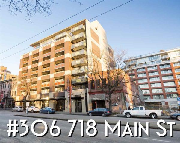 718 Main Street #306, Vancouver, BC V6A 0B1 (#R2250980) :: Re/Max Select Realty
