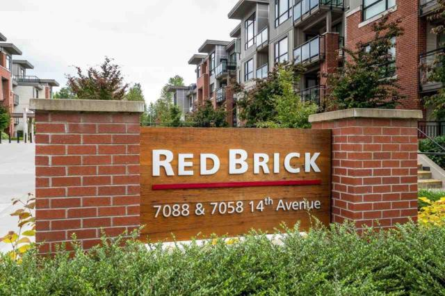 7058 14TH Avenue #126, Burnaby, BC V3N 0E6 (#R2281893) :: Re/Max Select Realty